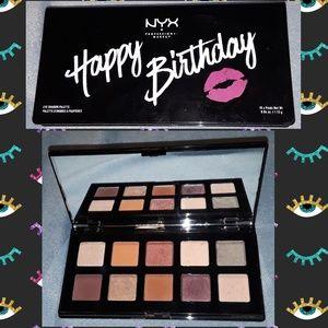 """NYX Makeup - NYX """"happy birthday"""" eyeshadow palette"""